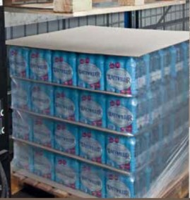 Corrugated Cardboard for Antislip Palletization
